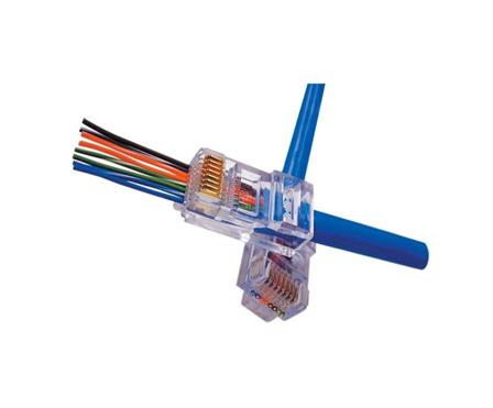EZ-RJ45 Connectoren makkelijk te monteren