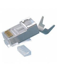 RJ45 Cat.6A/10gig shielded connector Platinum tools