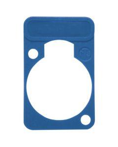 Chassisdeel kleurmarkering Neutrik DSS-6 blauw