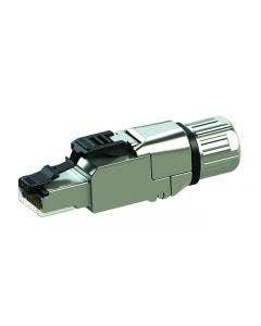 Field assembly RJ45 connector Cat.6A Telegartner J00026A5003