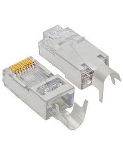 EZ-RJ45 shielded Cat.5e/6 connnector met external ground (verpakking 50 stuks) Platinum tools