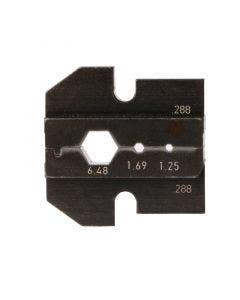 Inzetstuk tbv PEW12 tang HEX 1.25/ 1.69/ 6.48 Telegartner N01003A0056