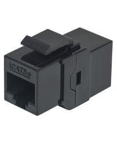 Keystone koppelstuk RJ45 Cat.5E UTP Intellinet 504775 zwart
