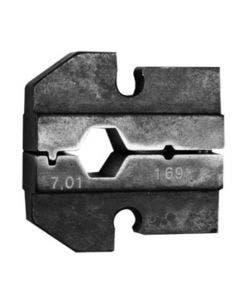 Inzetstuk tbv PEW12 tang HEX 1.07/ 7.01 Telegartner N01003A0004
