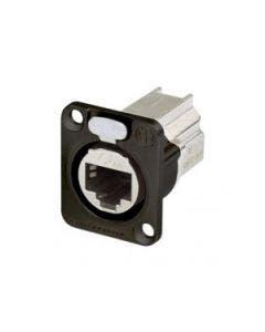 Ethercon chassisdeel Cat.6A Neutrik NE8FDX-P6-B zwart