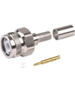 Straight plug TNC male  p/n 3190-2879 Times microwave systems TC-195-TM-X