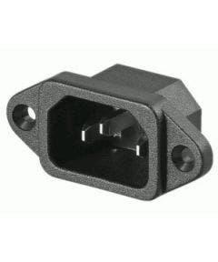 Chassisdeel C14 met schroefaansluiting Romal 781 zwart
