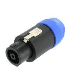 Speakon kabeldeel Neutrik NL8FC blauw