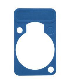 Chassisdeel kleurmarkering Neutrik DSS6BL blauw