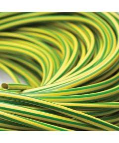 plastickous 4 mm Romal geel groen