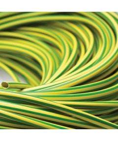 plastickous 12 mm Romal geel groen