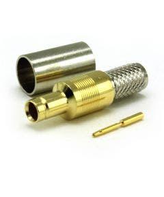 Din 1.0 /2.3 female kabeldeel tbv 1855A/1855ENH Coax connectors 52-054-D6-FA
