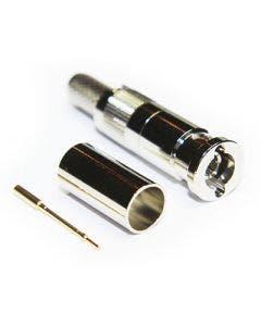 Micro BNC krimpconnector Coax connectors 67-005-B66-EF