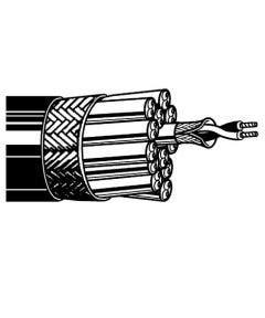 Multicore kabel analoog 4 x 2 x 0.14 qmm Belden 46312 zwart