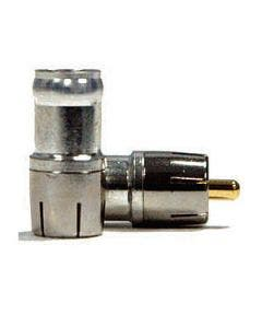 RCA connector compressie tbv RG59 Belden DB59RCAU