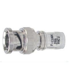 BNC connector compressie tbv RG6. H126DB+ Belden DB6BNCU blank