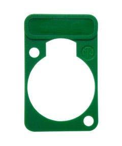 Chassisdeel kleurmarkering Neutrik DSS5GN groen