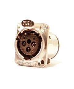 XLR chassisdeel (f) soldeer 3-polig Switchcraft E3FSC
