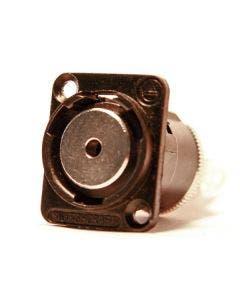 3.5 mm stereo chassisdeel soldeer Switchcraft EH35MMSSCB zwart
