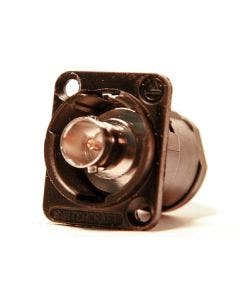 BNC chassisdeel soldeer Switchcraft EHBNCSCB zwart