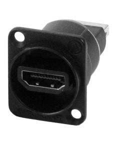HDMI chassisdeel (f-f) Switchcraft EHHDMI2B zwart