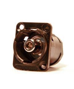 RCA-RCA chassideel Switchcraft EHRCA2BX zwart