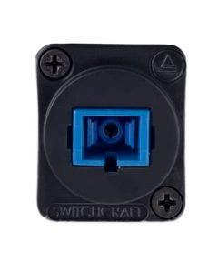SC fiber optic singlemode Switchcraft EHSC2 zwart