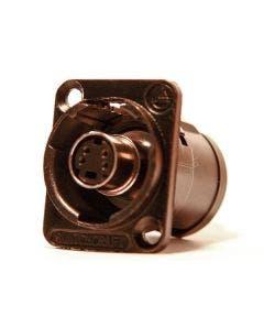 SVHS chassisdeel Switchcraft EHSVHS2BX zwart