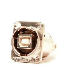 USB chassisdeel b/a Switchcraft EHUSBBAX