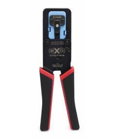 EZ-EX-RJ45 EXO krimptang met EZ-RJ45 inzetstuk t.b.v. Cat.5E en Cat.6 Platinum tools