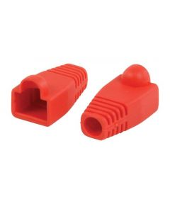Tule RJ45 Cat.6A maximale kabeldiameter 8.00mm Platinum tools rood