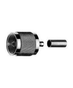 UHF krimpconnector t.b.v. RG223 Telegartner J01040A0009