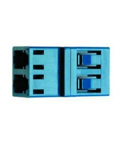 LC duplex adapter phosphorbronze Telegartner J08071A0002