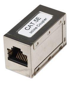 Koppelstuk RJ45 Cat.5E afgeschermd Intellinet 504768 zilver