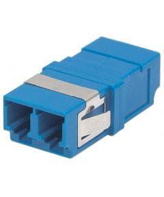 Glasvezelkoppelbus LC-LC singlemode duplex Intellinet 760553 blauw