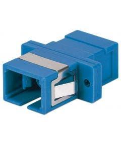 Glasvezelkoppelbus SC-SC singlemode simplex Intellinet 760607 blauw