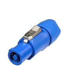 Powercon connector Neutrik NAC3FCA blauw