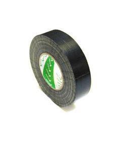 Gaffa tape 25 mm - 50 meter Nichiban zwart