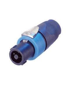 Speakon kabeldeel Neutrik NL4FX blauw