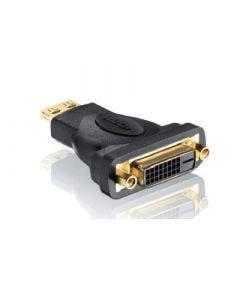 HDMI/DVI adapter Pureinstall Purelink PI015 zwart