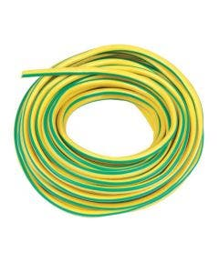 plastickous 5 mm Romal geel groen