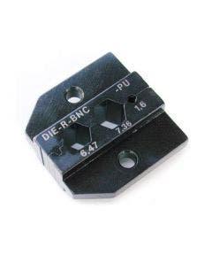 Inzetstuk SQ 1.6 HEX 6,47/7,36 tbv PEW12 tang Neutrik DIE-R-BNC-PU