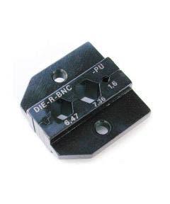 Inzetstuk SQ 1.6 HEX 6.47/ 7.36 tbv PEW12 tang Neutrik DIE-R-BNC-PU