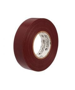 Temflex vinyl tape 1500 15 mm - 10 meter 3m bruin