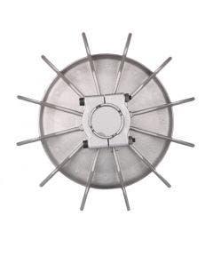 Aluminium waaier 128 mm. asgat 14,1 mm Romal BG 71