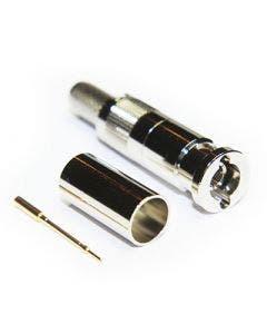Micro BNC krimpconnector t.b.v. 1855A & 4855R Coax connectors 67-005-B66-EF