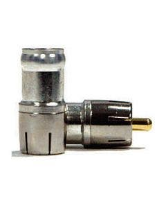 RCA connector compressie tbv RG6 Belden DB6RCAU