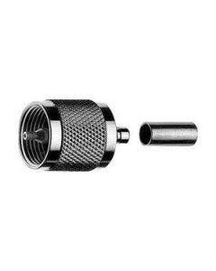 UHF krimpconnector t.b.v. RG 213 & RG 214 Telegartner J01040A0010