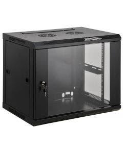 19 inch wandbehuizing 12HE 635x600x450mm Intellinet 711906 zwart