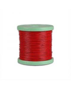 Montagesnoer 350V 0.15 qmm Belden rood